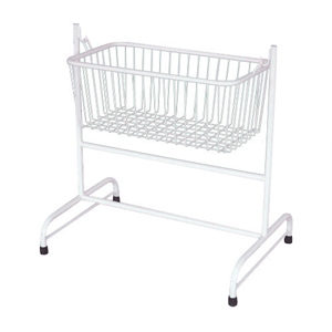 Hospital Baby Crib On Stand